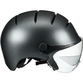 Kask Lifestyle Cykelhjelm inkl. visir, matte anthracite